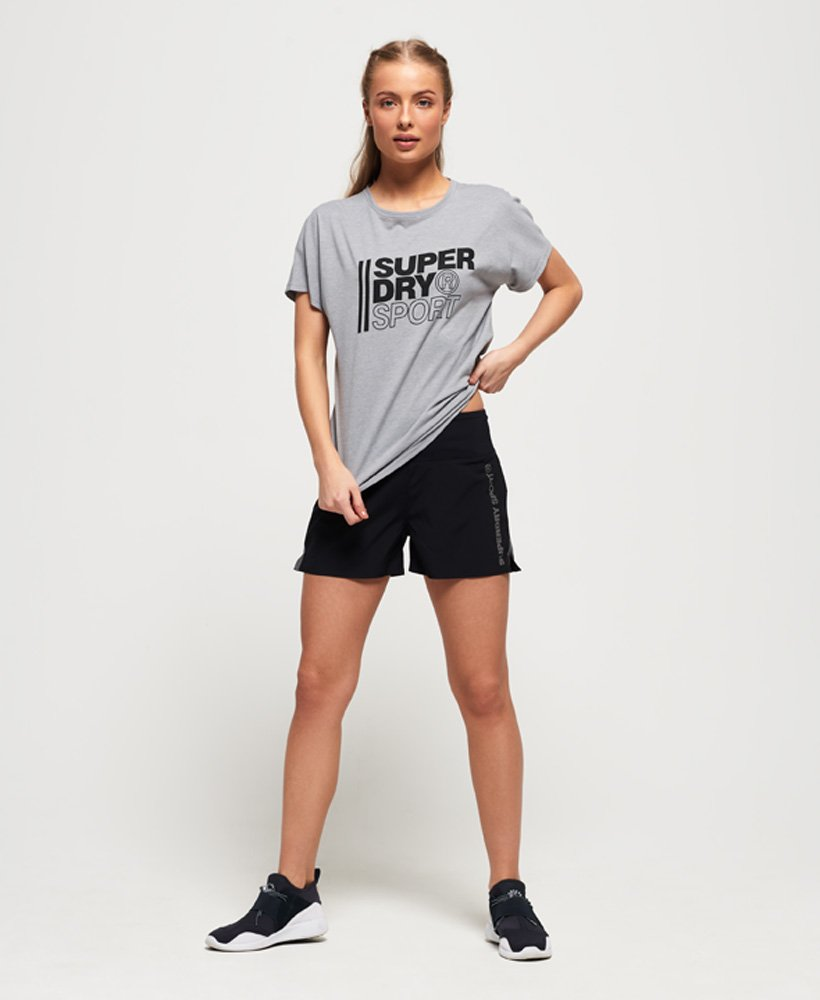 Superdry Womens Core Sport Graphic T-Shirt