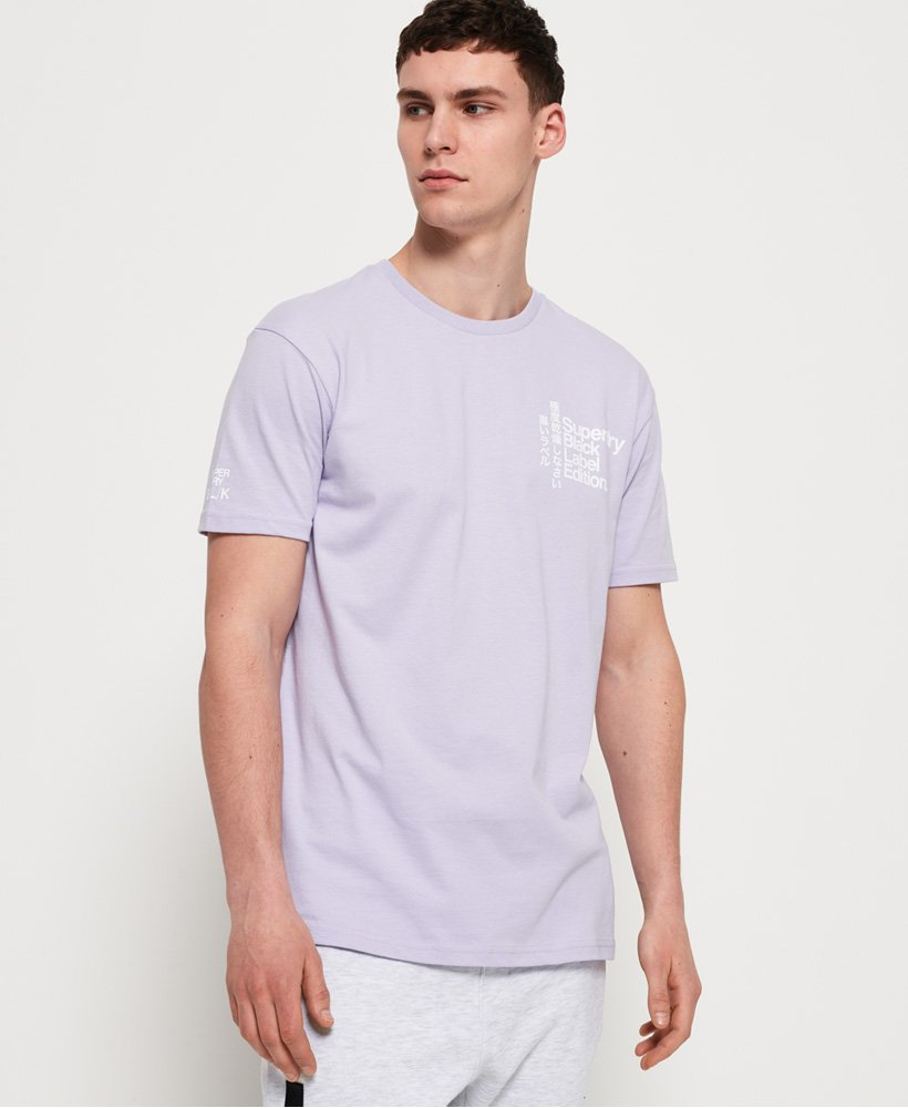 Superdry T-shirt Black Label Edition  thumbnail 1