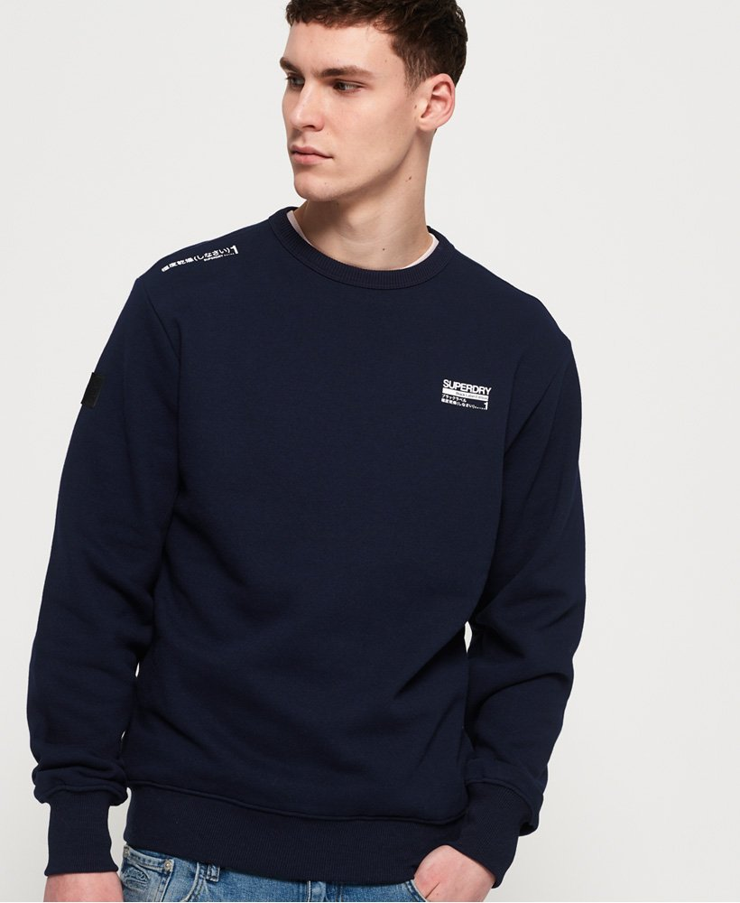Superdry Black Label Edition Sweatshirt mit Rundhalsausschnitt thumbnail 1