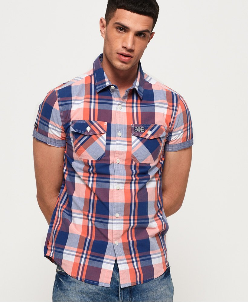 Superdry Washbasket Short Sleeve Shirt thumbnail 1