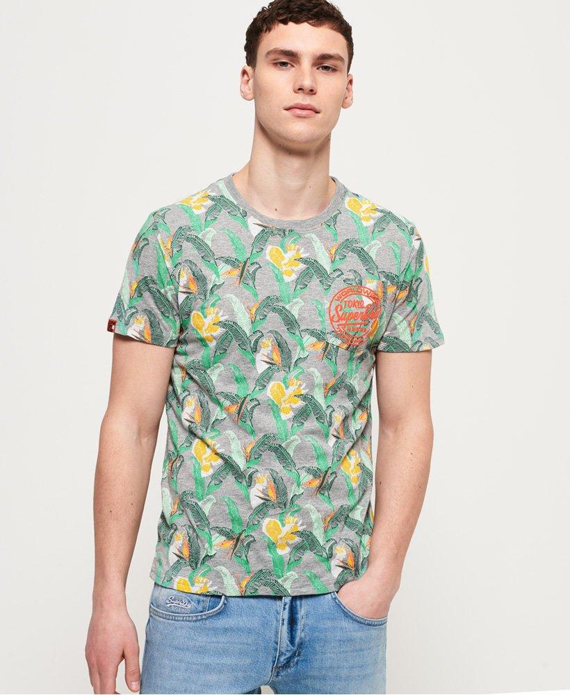 Superdry T-shirt léger imprimé à poche Ticket Type thumbnail 1