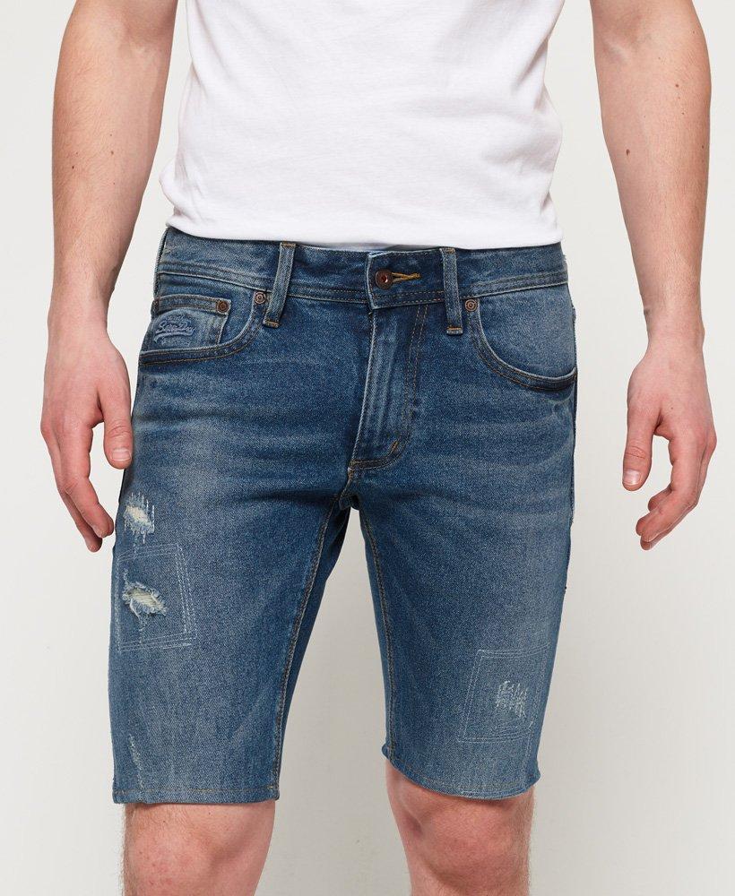 Pour Jean Skinny Short En Homme Shorts Superdry mn0OvwN8