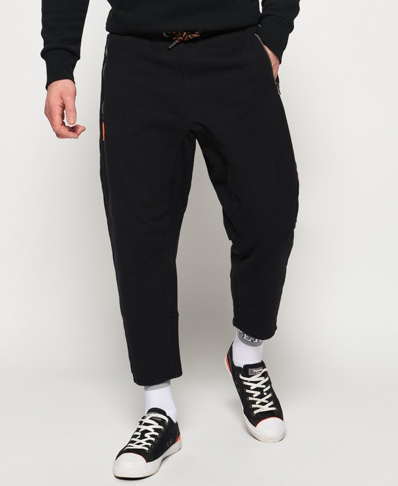 Superdry Cropped Loopback Joggers thumbnail 1