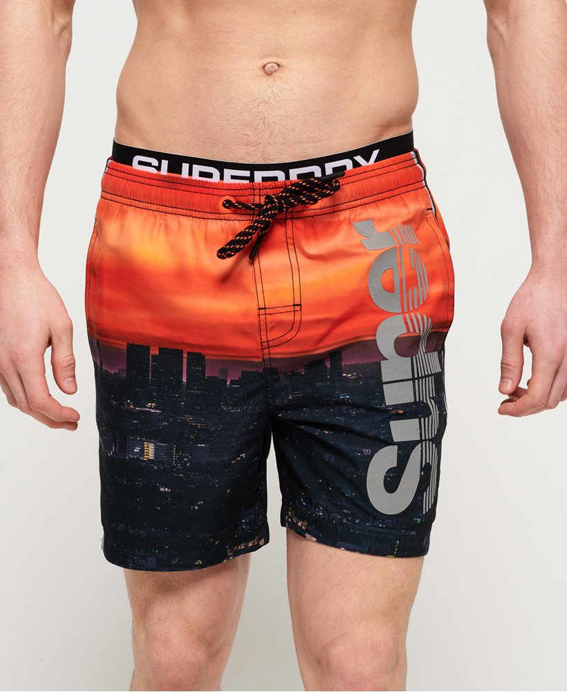 Superdry Photographic Volley Swim Shorts  thumbnail 1