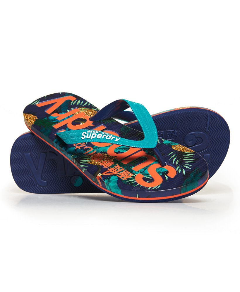 Superdry All Over Print Flip Flops thumbnail 1