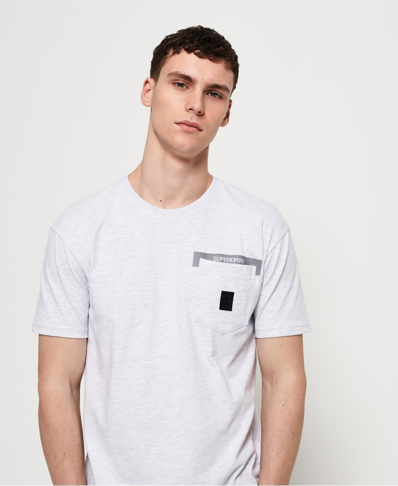 Superdry T-shirt à poche Black Label Edition thumbnail 1