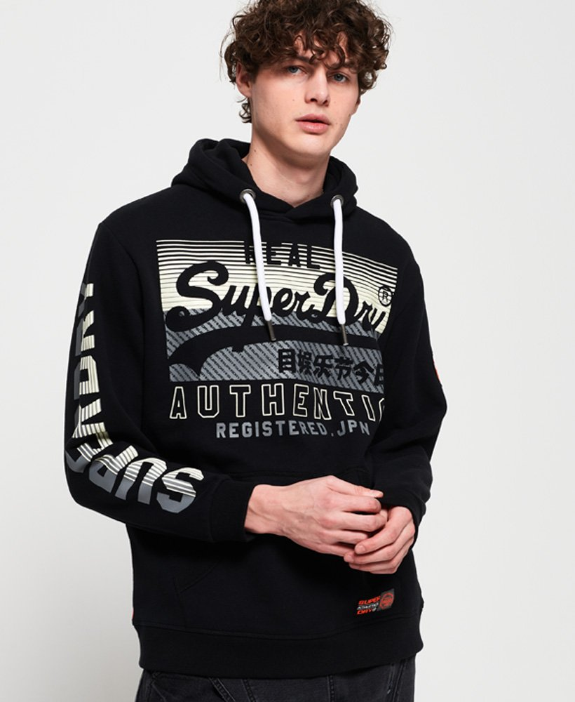 Superdry Sweat à capuche classique Reactive
