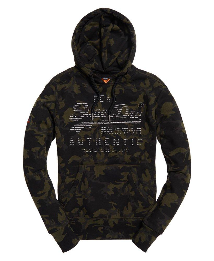 Superdry Sweat à capuche camouflage avec logo vintage