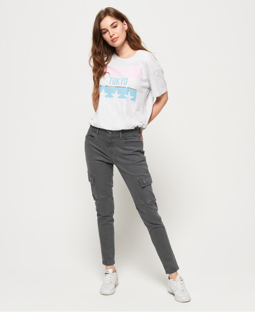 Superdry Daisey Skinny Cargo Trousers  thumbnail 1