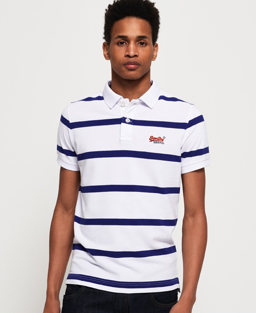Superdry Beach Volleyball Polo Shirt thumbnail 1