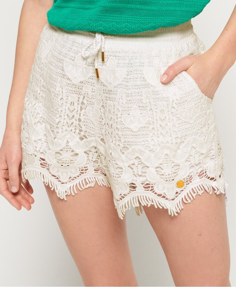 Superdry Mandy Lace Shorts thumbnail 1