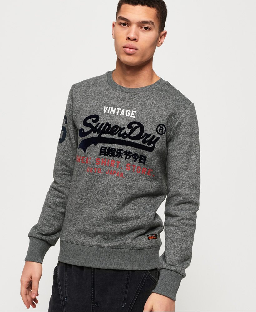Superdry Sweat Shirt Store Crew Neck Sweatshirt thumbnail 1