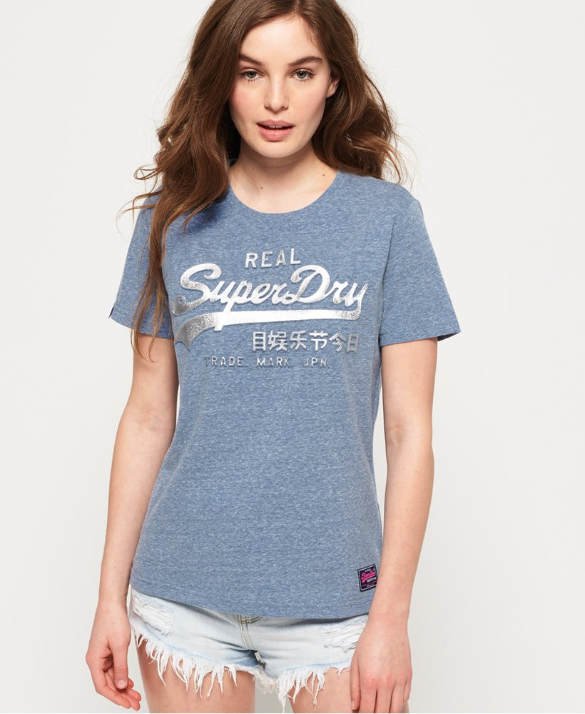 Superdry Vintage logo Embossed Foil T-Shirt thumbnail 1