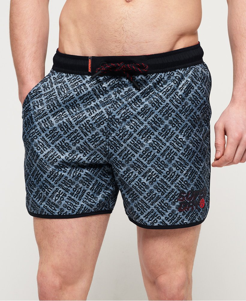 Superdry Echo Racer Swim Shorts