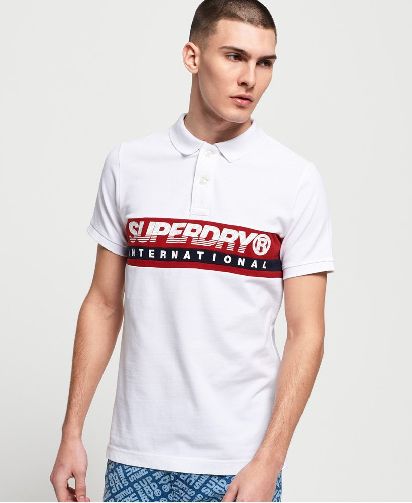 Superdry Polo International Chest Band