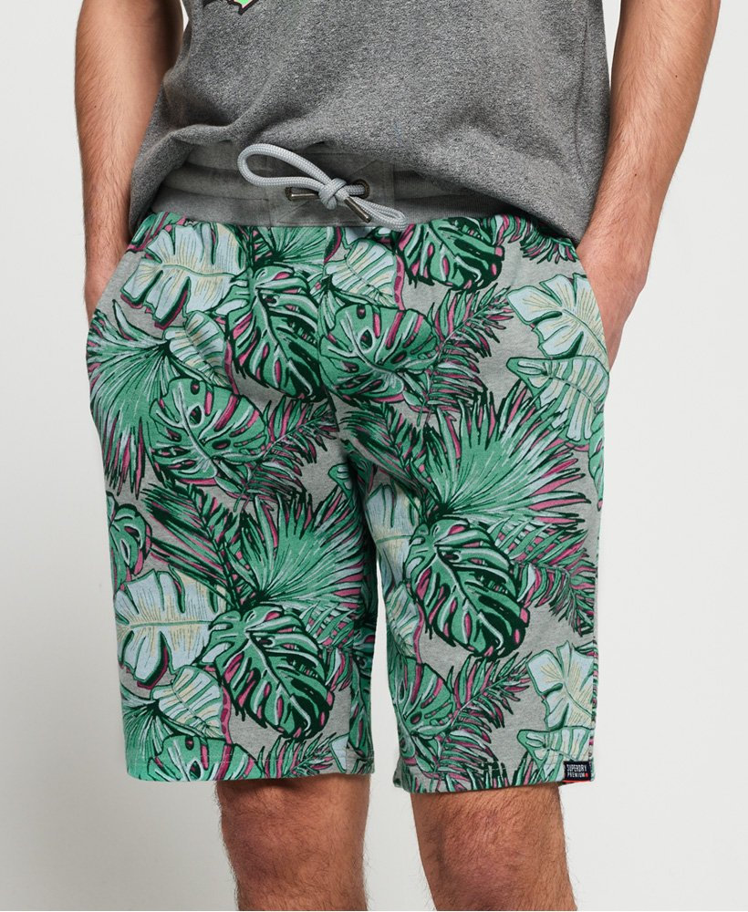 Superdry Superdry All Over Print Washed Shorts thumbnail 1