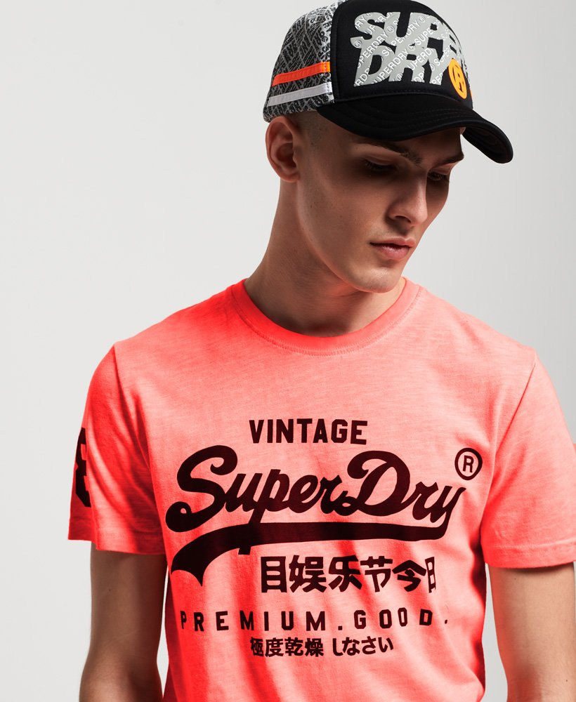 Superdry Premium Goods Mid Weight All Over Print T-Shirt thumbnail 1