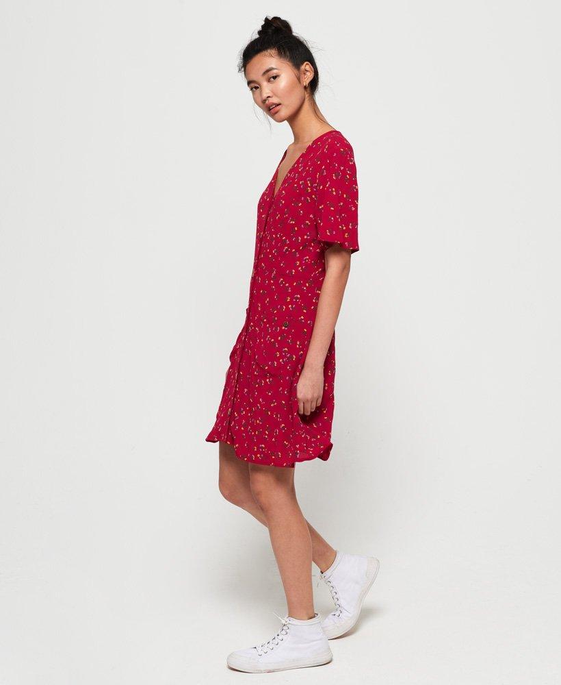 a156a6e07c77 Superdry Darcy-kjole med knapper - Dame Kjoler