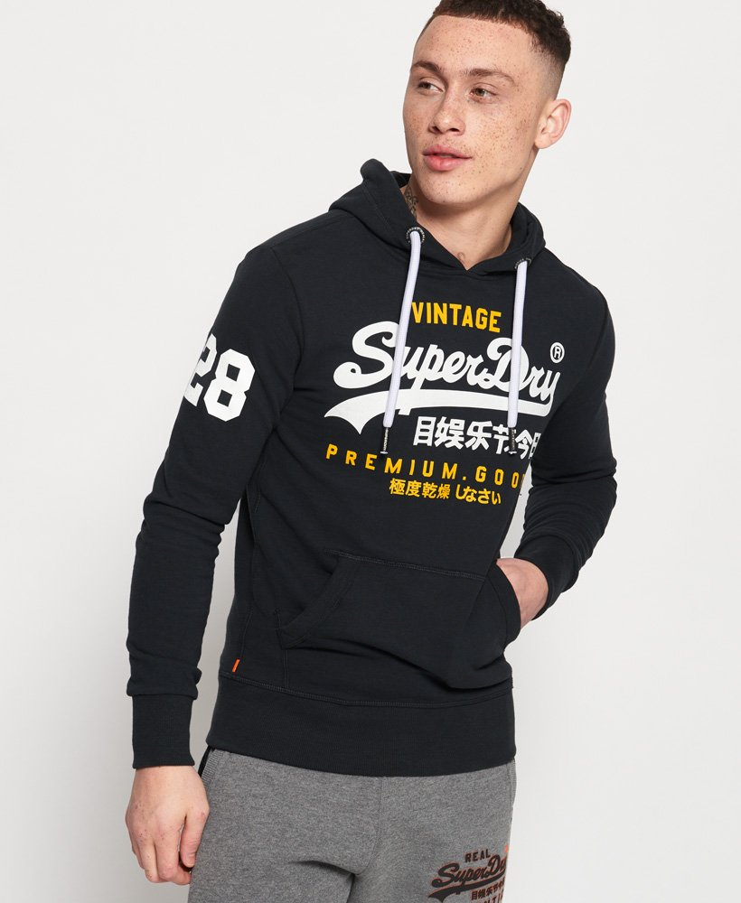 Superdry Sweat à capuche léger Premium Goods Duo