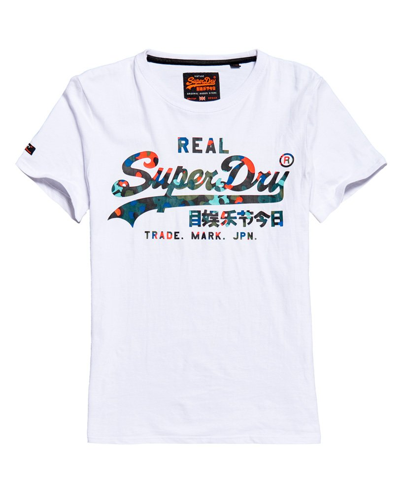 Superdry Vintage Logo Layered Camo T-Shirt