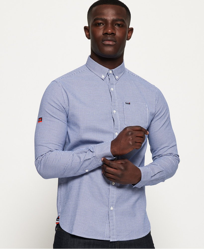 Superdry Chemise Oxford Premium University  thumbnail 1