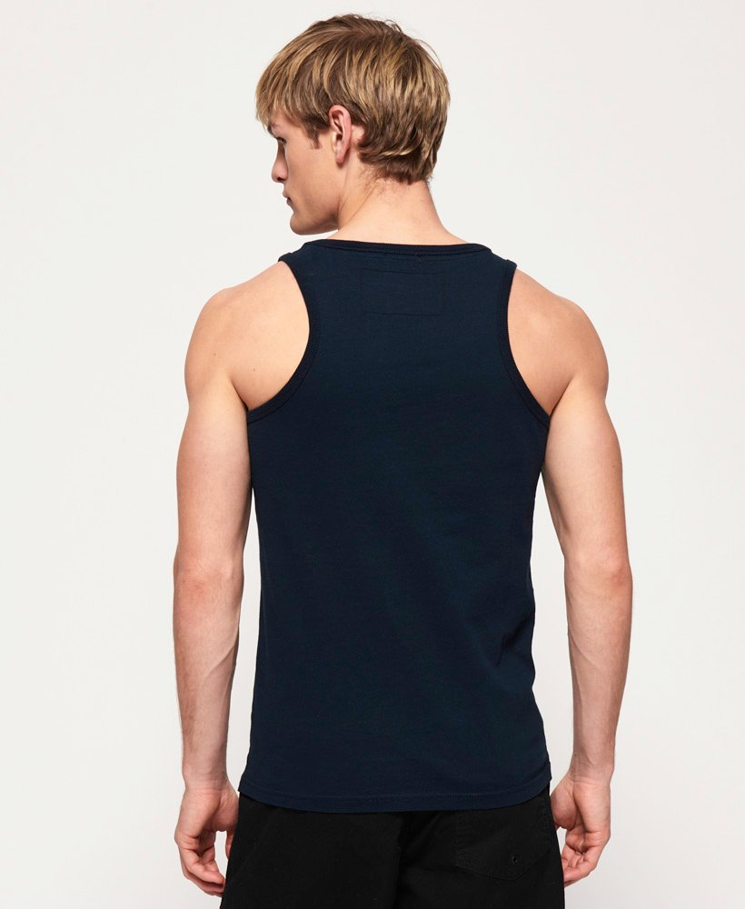 Superdry Mens Super Seven Mid Weight Vest Top
