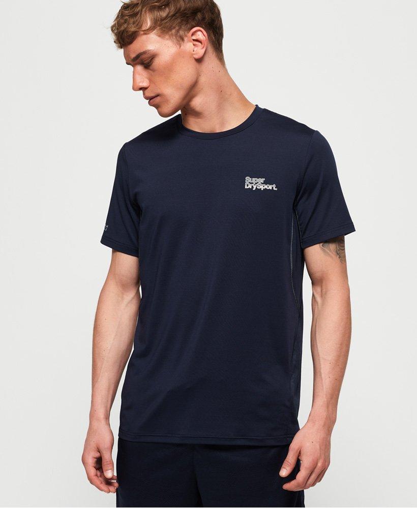 Superdry T-shirt Active Camo Jacquard thumbnail 1