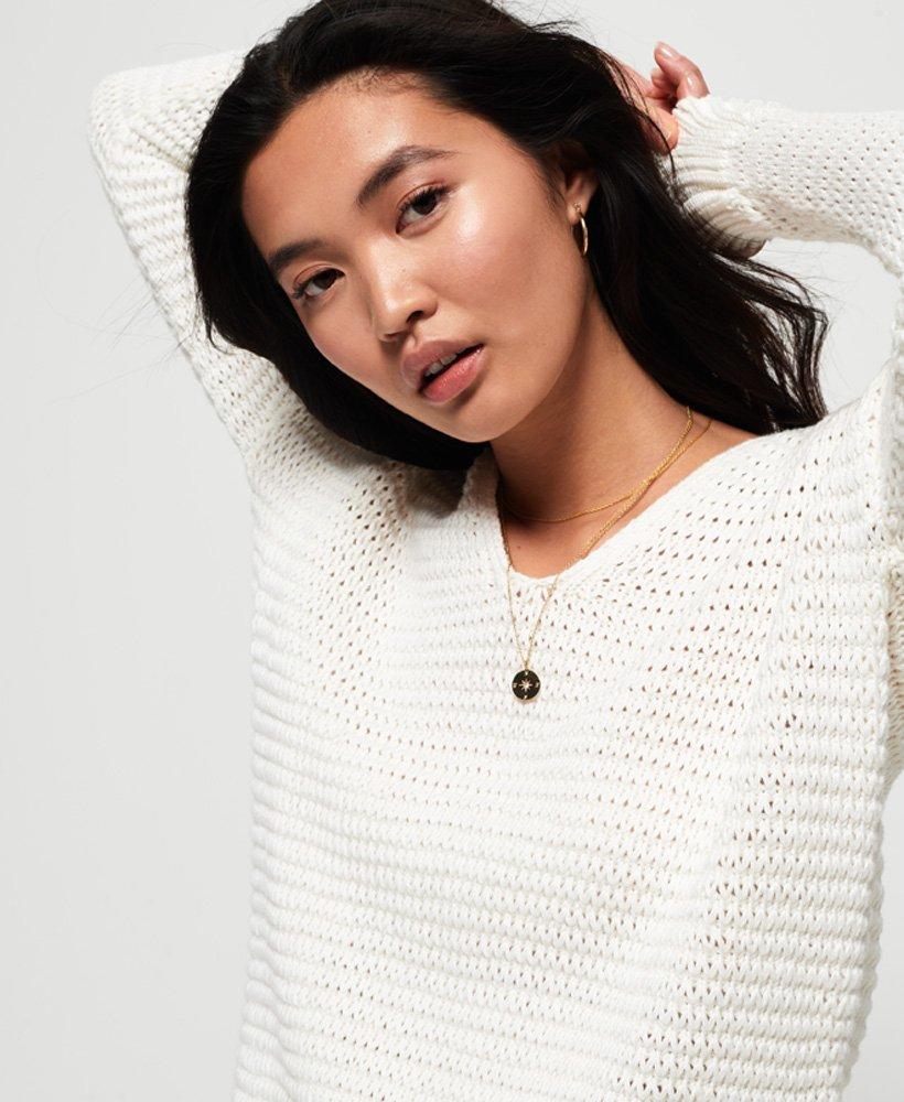 Superdry Eloise Textured Open Knit  thumbnail 1
