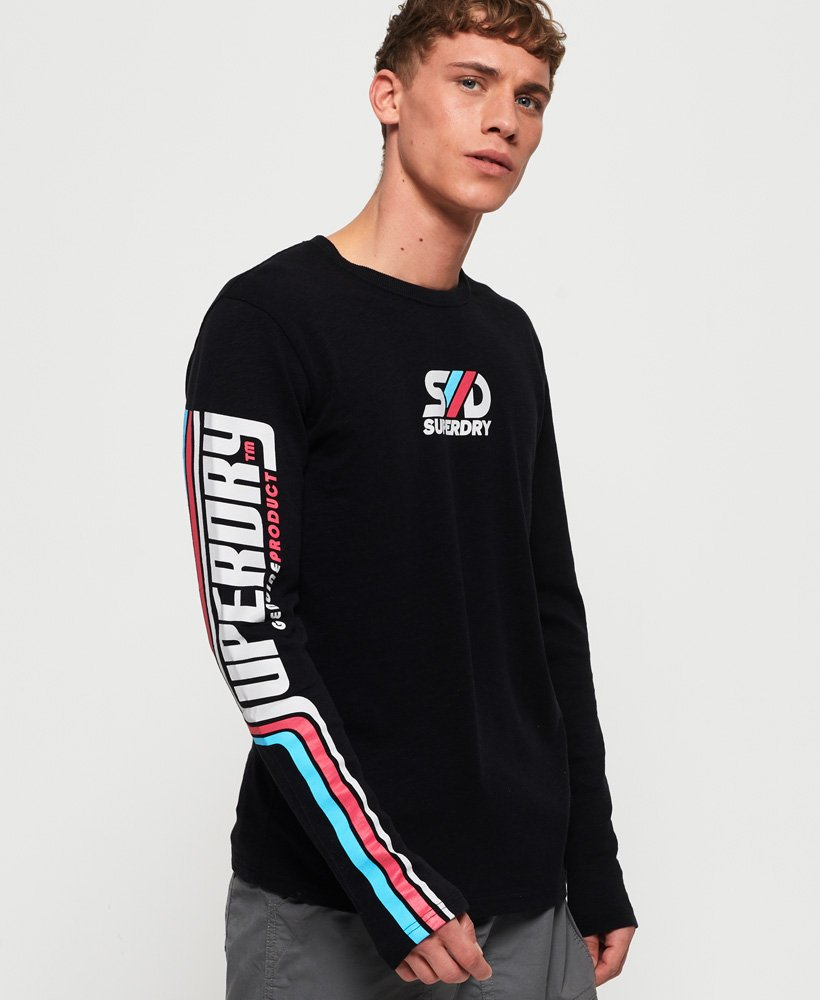 Superdry Retro Classic Long Sleeve T-Shirt thumbnail 1