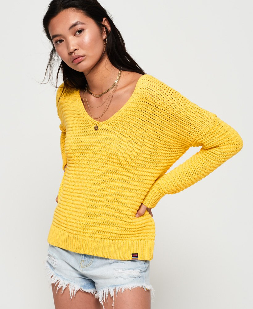 Superdry Eloise Textured Open Knit  thumbnail 1