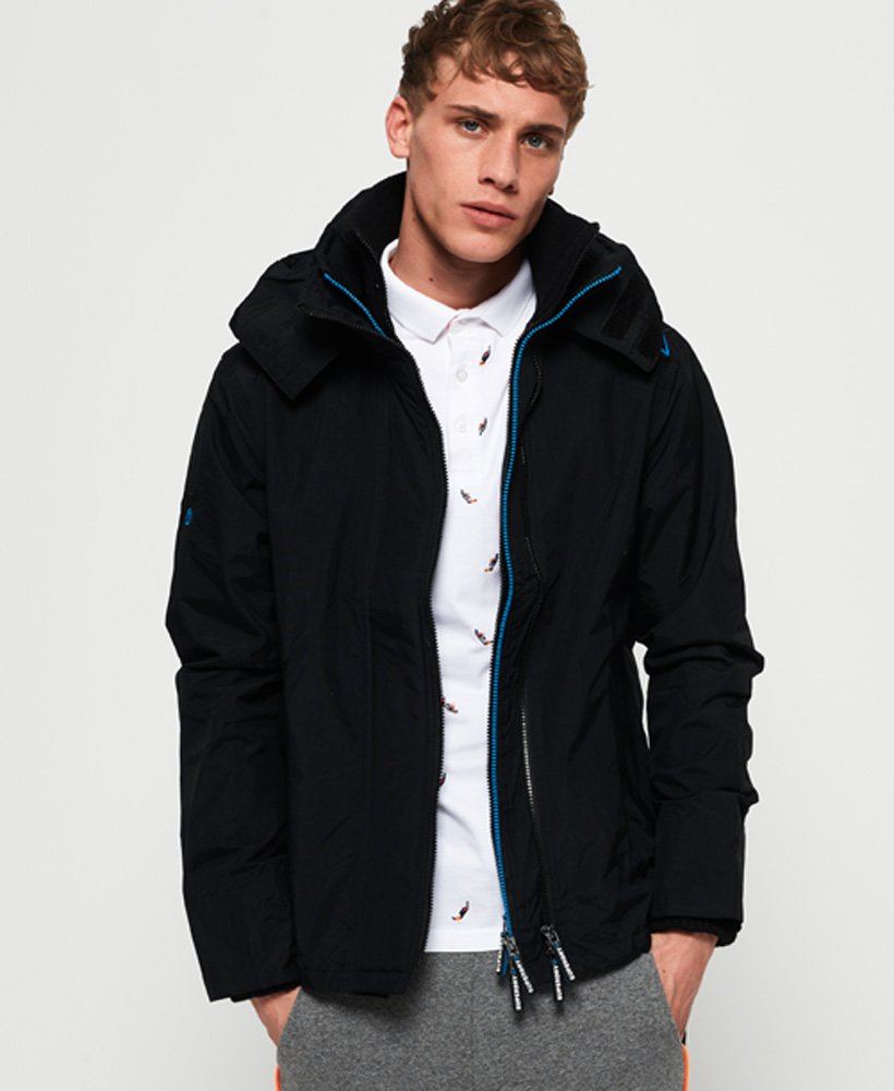 Superdry Technical Pop Zip Hooded SD-Windcheater Jacket thumbnail 1
