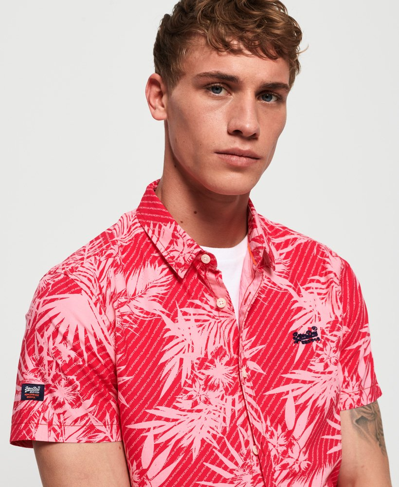 Superdry Short Sleeve International Vacation Shirt thumbnail 1