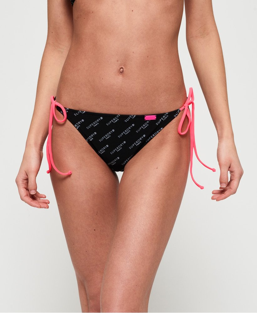 Superdry Bas de bikini triangle Logo Superdry