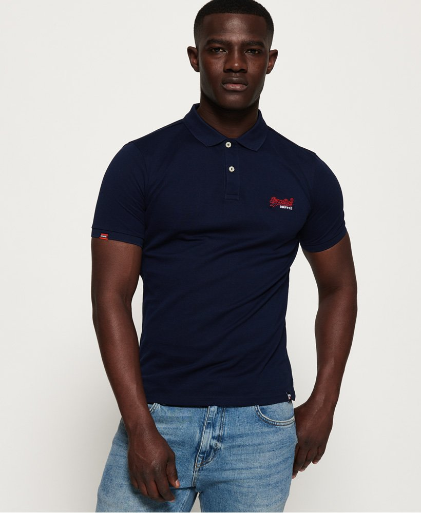Superdry Mercerised Lite City Polo Shirt thumbnail 1