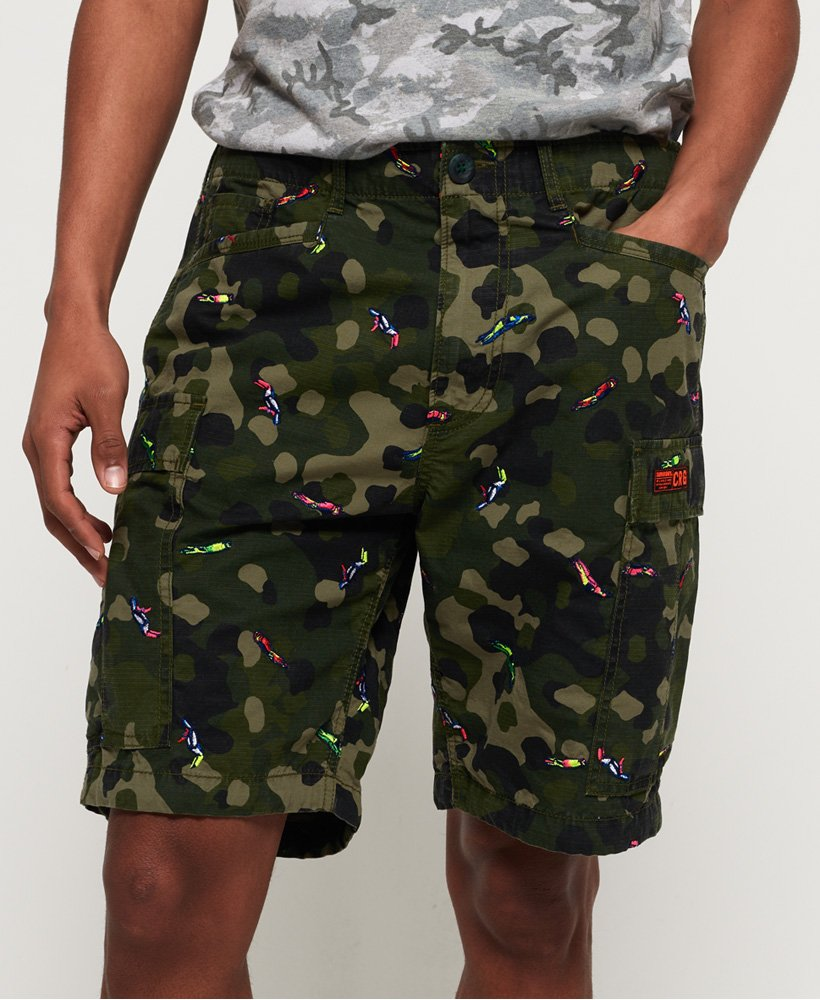 Superdry Rookie Edition Parachute Cargo Shorts thumbnail 1