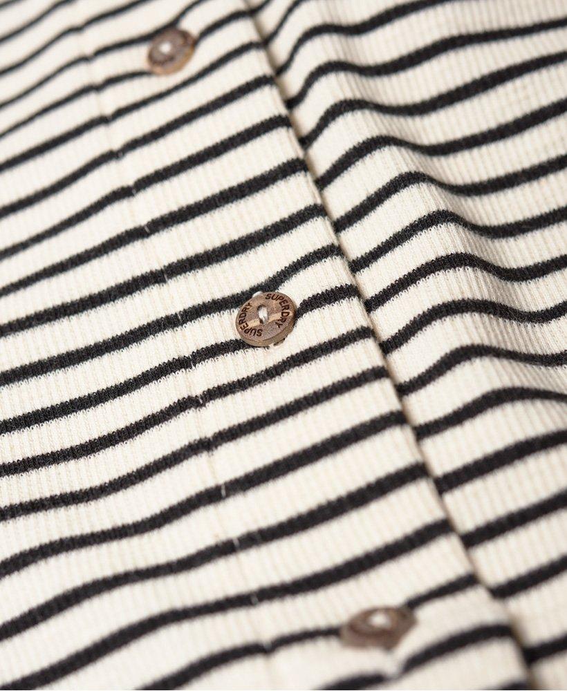 d009a6859dbf2c Womens - Charlotte Button Down Midi Dress in Mono Stripe