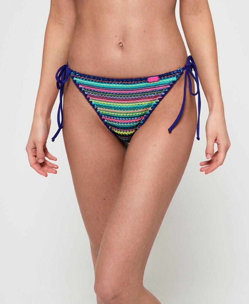 Superdry Crochet Carnival Tri Bikini Bottom thumbnail 1