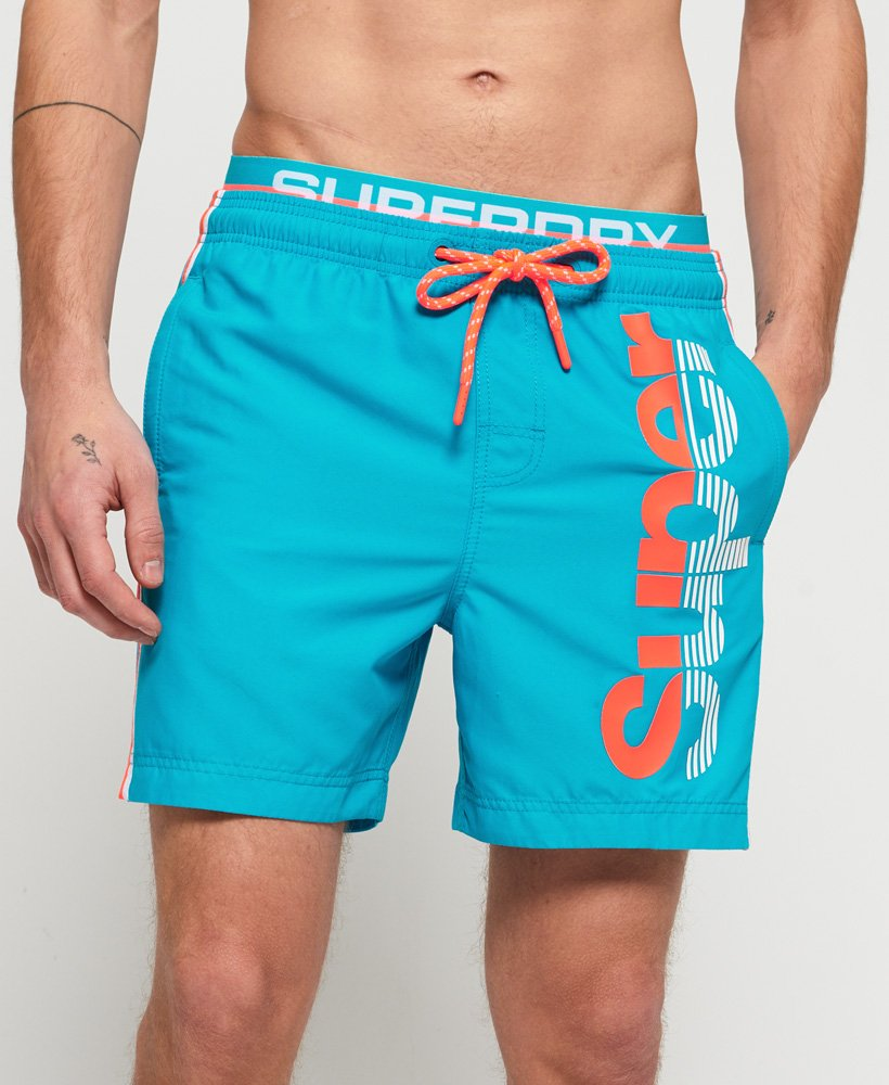Superdry Superdry State Volley Swim Shorts thumbnail 1