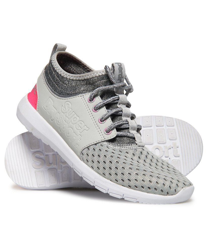 6094f4e2f46d Superdry Super Mesh Runner Trainers thumbnail 1