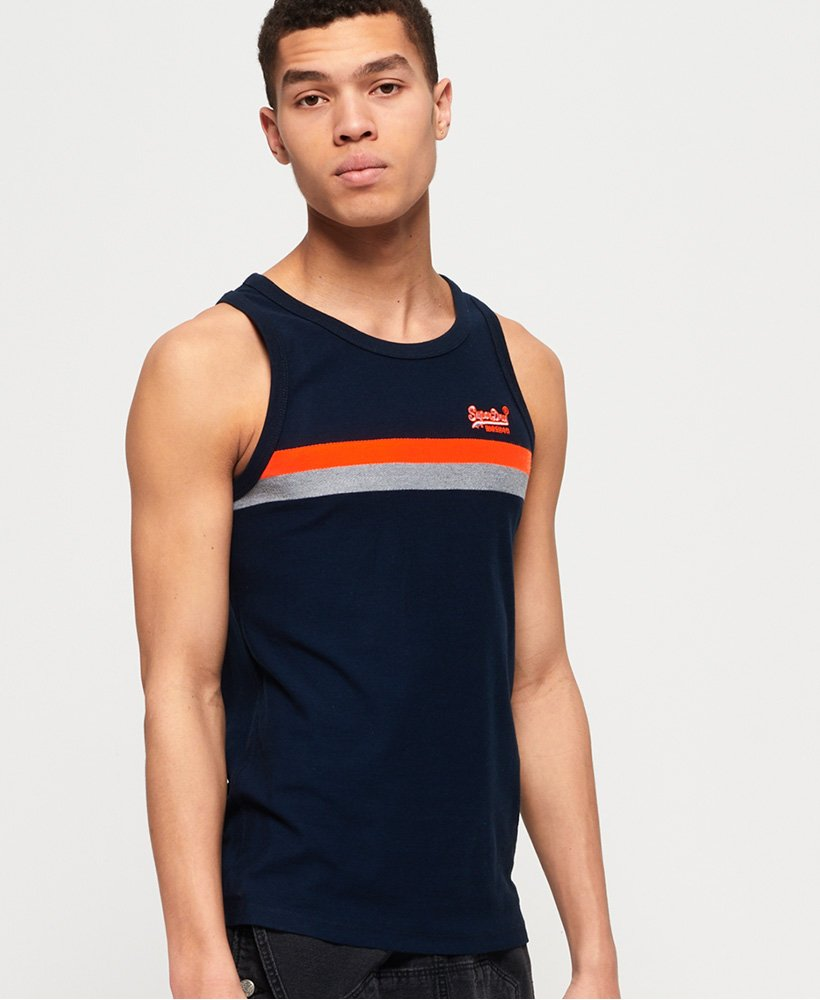Superdry Tri Colour Vest Top thumbnail 1