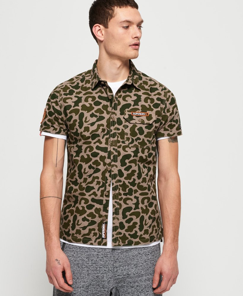 Superdry Luxe Skate Worker Shirt  thumbnail 1