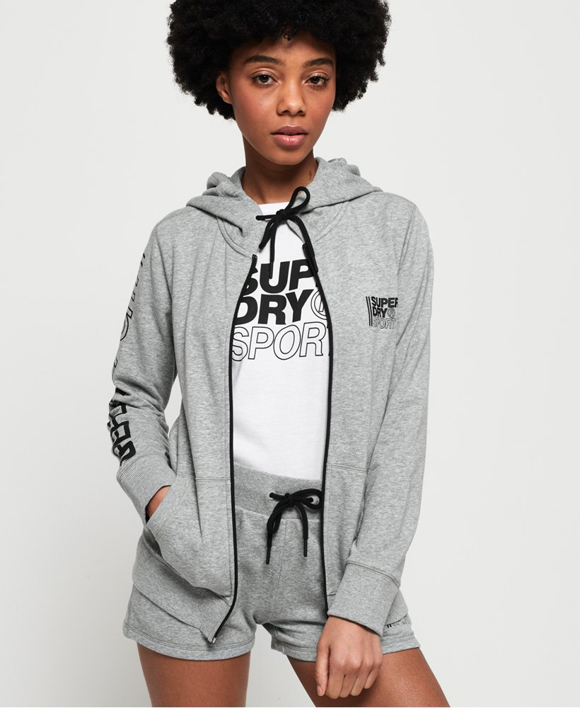 Superdry Sweat à capuche zippé Core Sport thumbnail 1