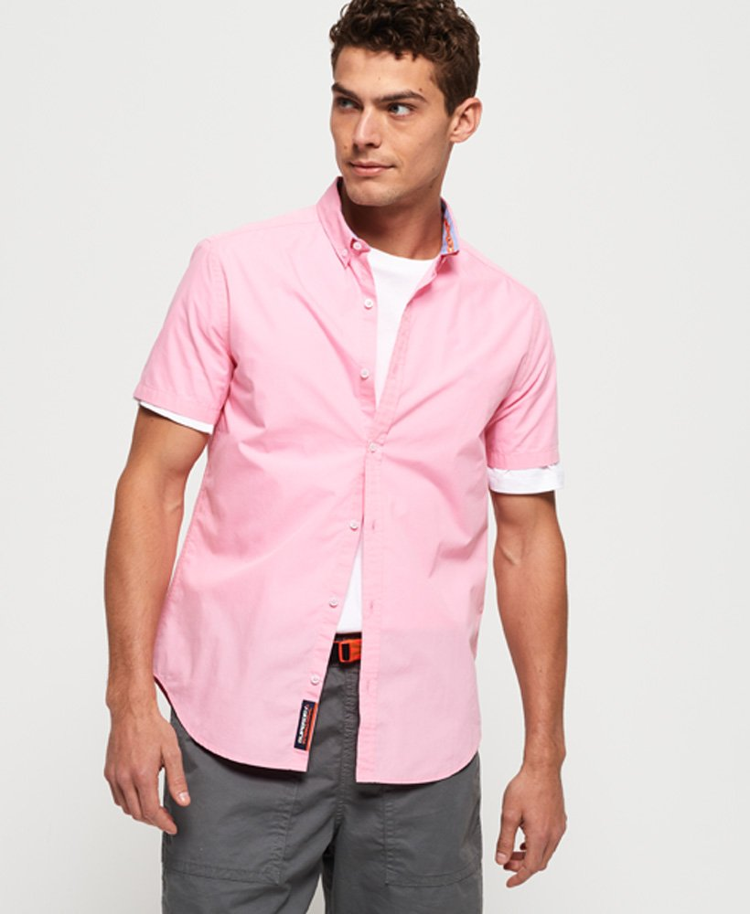Superdry International Poplin Short Sleeve Shirt thumbnail 1