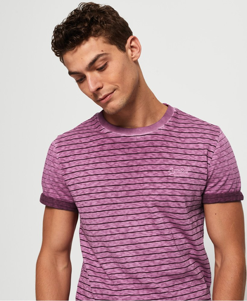 Superdry Low Roller Clash Stripe T-Shirt  thumbnail 1