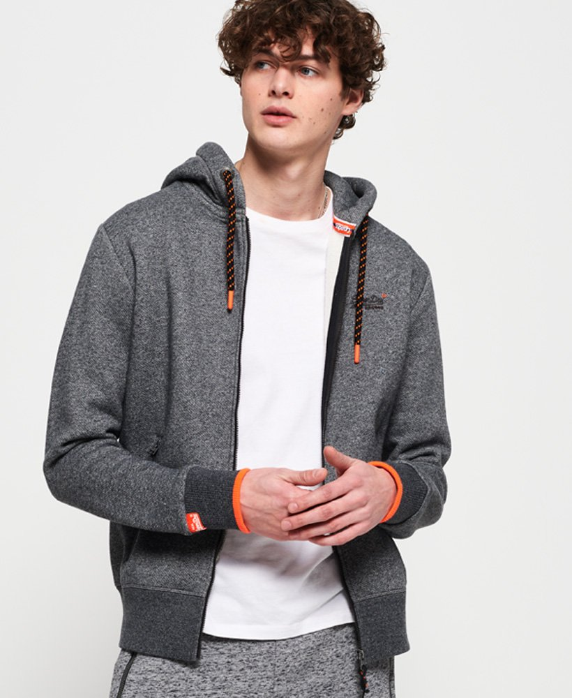 Superdry Orange Label Hyper Pop Zip Hoodie thumbnail 1