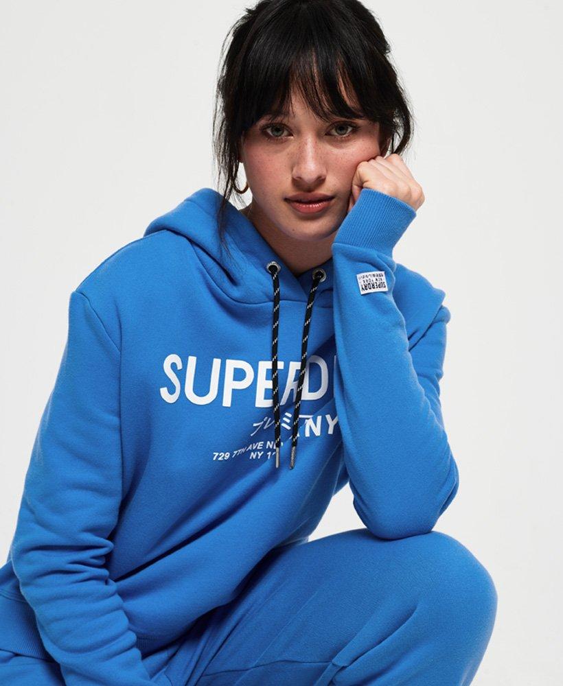 Superdry Womens Elissa Cropped Hoodie