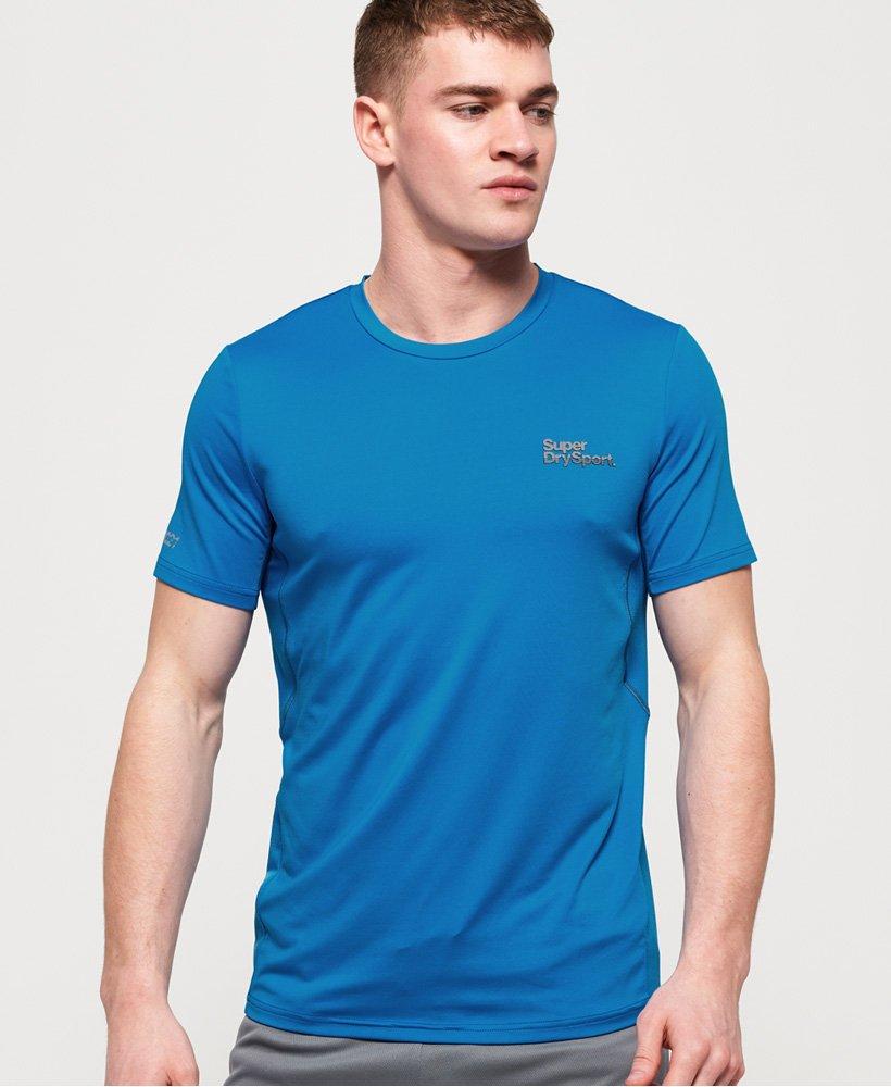 Superdry T-shirt jacquard camouflage Active thumbnail 1