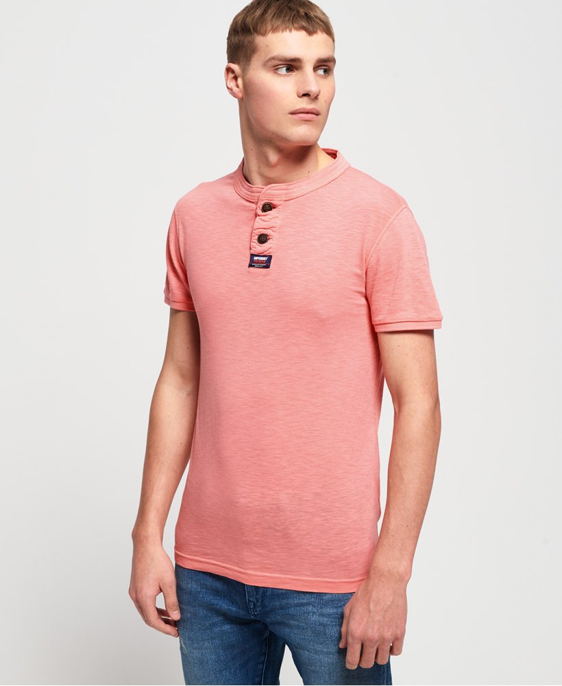 Superdry Homestead Short Sleeve Lite Grandad top thumbnail 1