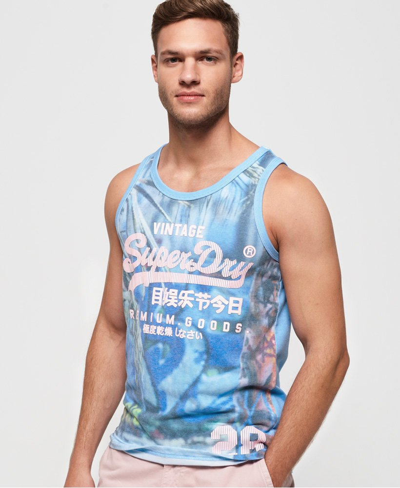 Superdry Premium Goods Photographic Vest  thumbnail 1