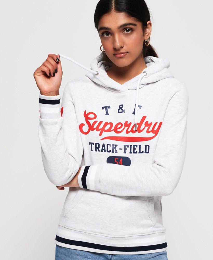 Superdry Track & Field huvtröja thumbnail 1